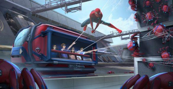 Spider-Man, Walt Disney Studios, Disneyland Paris